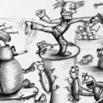 Pugnacious Parasites and the Provocation