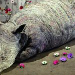 Amazing Wildlife Art Sculpted from Recycled Paper
