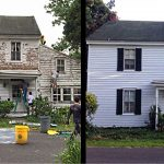 Kind Neighbors Restored & Painted House of Elderly Woman for Free