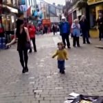 Celebrate St. Patrick's Day by Watching Adorable Toddler Join Irish Woman for Dance in the Street