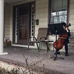 Neighbor Kids Play Music for Self-Isolating Elderly Neighbor