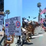 Americans Stand Up: Voices from Many Protestors at Huntington Beach, CA on May 1st