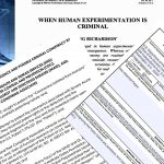 When Human Experimentation Is Criminal: Legal Action You Can Take Against Medical Tyranny
