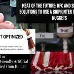 "KFC 3D Prints ""Chicken Nuggets"" & Reveals Transhumanist ""Future of Food"""