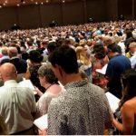 Defiance! 6,000 Attend 'Illegal' California Church Service