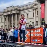 """Gareth Icke at 9/26/2020 """"We Do Not Consent"""" Rally in Trafalgar Square, London: """"We Are the 99.99% and When We Stand Together It's Over"""""""