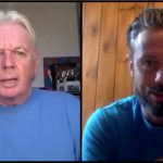 """David Icke & Gareth Icke Discuss SS-Style Police Violence at the September 26 """"We Do Not Consent"""" Rally in Trafalgar Square, London"""