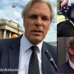 Courageous German Doctor Heiko Schoening Arrested Before He Could Speak at Trafalgar Square, London