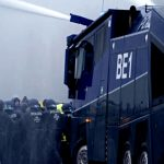 Police Use Water Cannons Against Anti-Lockdown Protesters in Berlin