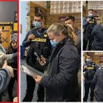 """Buffalo, NY Business Owners Chase Out Health & Sheriff Departments: """"We Do Not Comply!"""", """"Get Out!"""""""