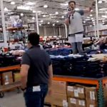 """Don't Let Them Do It!"" Man Stages Lockdown Protest in Branch of Costco"