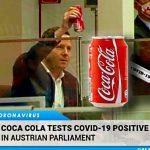 Coca-Cola Tests Positive for COVID-19 in Austrian Parliament