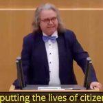 Member of German Parliament, Dr. Heinrich Fiechtner Warns: 'It's a Killer Vaccination'