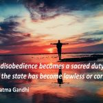 Petitioning Government or Courts Will Never Result in Gaining Freedom: Only Mass Disobedience Can Prevail