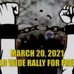 """James Corbett & James Evan Pilato: On March 20 """"Worldwide Rally for Freedom"""", Moderna Vaccine for Kids & More"""