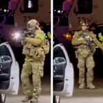 'This is Martial Law'—US Soldiers Force Women from Car at Gunpoint for Pumping Gas Past Curfew