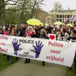'Police for Freedom': Netherlands Officers Demonstrate Against Coronavirus Tyranny