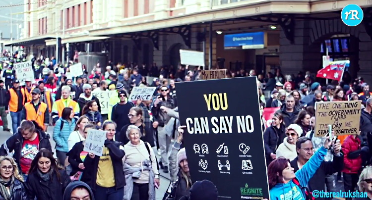 The People Are Rising: Melbourne, Australia Freedom Rally May 15, 2021 F