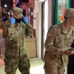 """Uniformed Troops Go to Bars & 7-Eleven in Dallas to Randomly Vaccinate """"Younger Crowd"""""""