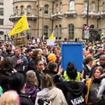 Live Coverage: London's Anti-Lockdown Protest – St. James Park to the BBC & around London