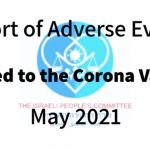 The Israeli People's Committee — Report of Adverse Effects Related to Corona Vaccine — May 2021