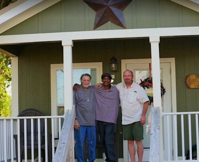 Realtor Transforms Abandoned Properties Into Tiny Home Villages That Give Permanent Housing to Chronic Homeless Ev2