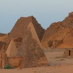 Nubian Pyramids and Giant Fingers?