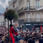 """August 7, 2021 Freedom Demonstrations in France: """"Thanks C-19 for the Great Awakening"""""""