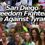 Medical Freedom Fighters Descend on San Diego Board Meeting to Oppose Tyranny