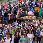 Australia's Massive Protest Against Anti-Covid Mandates & the Mainstream Media's Attempts to Maintain the Fear Narrative