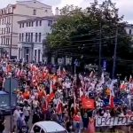 Massive Protest in Poland Against Vaccine Passports — August 8, 2021