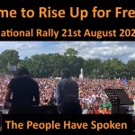 Australia Rises: Nationwide Pushback Against Tyranny – Saturday August 21st at 12PM