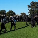 Australians Assaulted by Police as They Unite Against Medical Tyranny — September 22, 2021 at Shrine of Remembrance in Melbourne