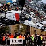 """F**K the Jab, Long Live Australia"" — 20,000 Shut Down Melbourne Highway In Massive Lockdown Protest"