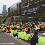 Australian Construction Workers Protest Against Government Restrictions and Mandates