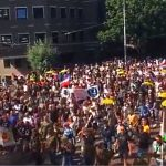 Amsterdam, Netherlands 'Born to Be Free' Protest — September 05, 2021