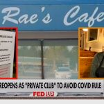 Missouri Cafe Reopens as Private Members Club to Avoid Mask Mandate