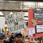 New Yorkers March in Solidarity With Australia's Freedom Fighters