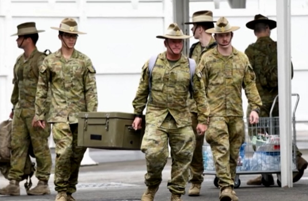 """From the Streets of Victoria, Australia: """"We Are Now in Deep Trouble Here… This Is a Fight for Our Souls and Our Humanity."""" Military"""