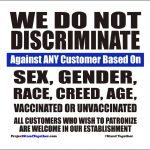 """Organizing Against Medical Mandates; Project Stand Together: """"I Posted a Video on TikTok of Me Passing Out These Signs to Businesses in NYC and It Went Viral"""""""